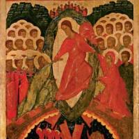 «И силы в мире нет такой. Нас разлучить нельзя…» Композиция «Памяти Карузо» и икона «Воскресение — Сошествие во ад».
