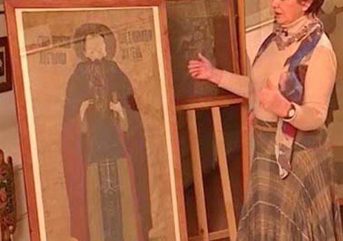 Коллекция лицевого шитья в собрании Псковского музея (видео)