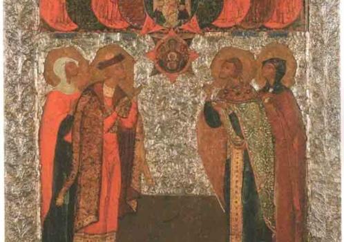«Отцы-пустынники и жены непорочные…». Икона «Избранные святые» и опера М.Мусоргского Борис Годунов.