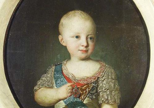 «Загадочный» и «таинственный» Рокотов. Портрет Великого Князя Константина Павловича в детстве.