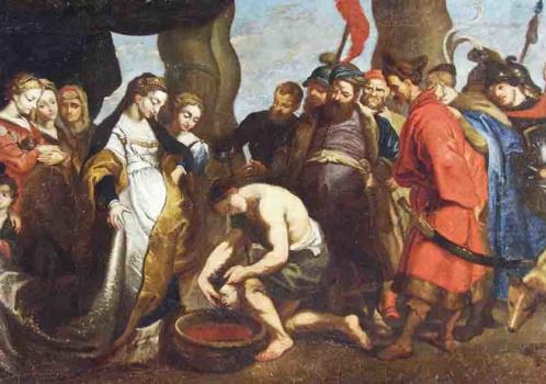 «Я — Кир, царь множеств…» Картина П.Рубенса «Царица Томирис перед головой Кира» и «Сарабанда» Г.Генделя